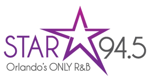 STAR 94.5 - Orlando's Only R&B Logo